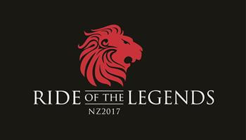 Ride of the legends NZ 2017 logo