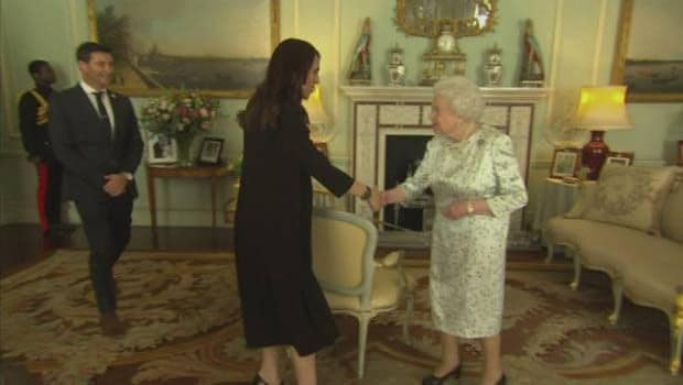 Gayford, Ardern, and a very famous Queen of England