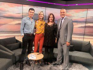 Mary Lambie Mary Lambie Breakfast Club TVNZ Feb 2019